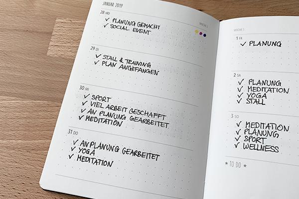 Kalender von GRAFIK WERKSTATT für Done-List