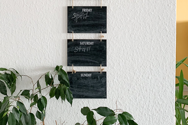 Wochenplaner | Depot | Chalk Board