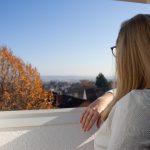 Hallo Glück | Sandra blickt über die Wetterau